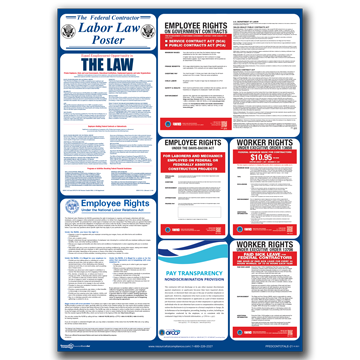 Federal Contractor All-in-One poster