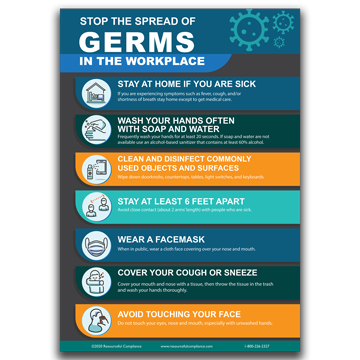 Help Us Stop the Spread of Germs