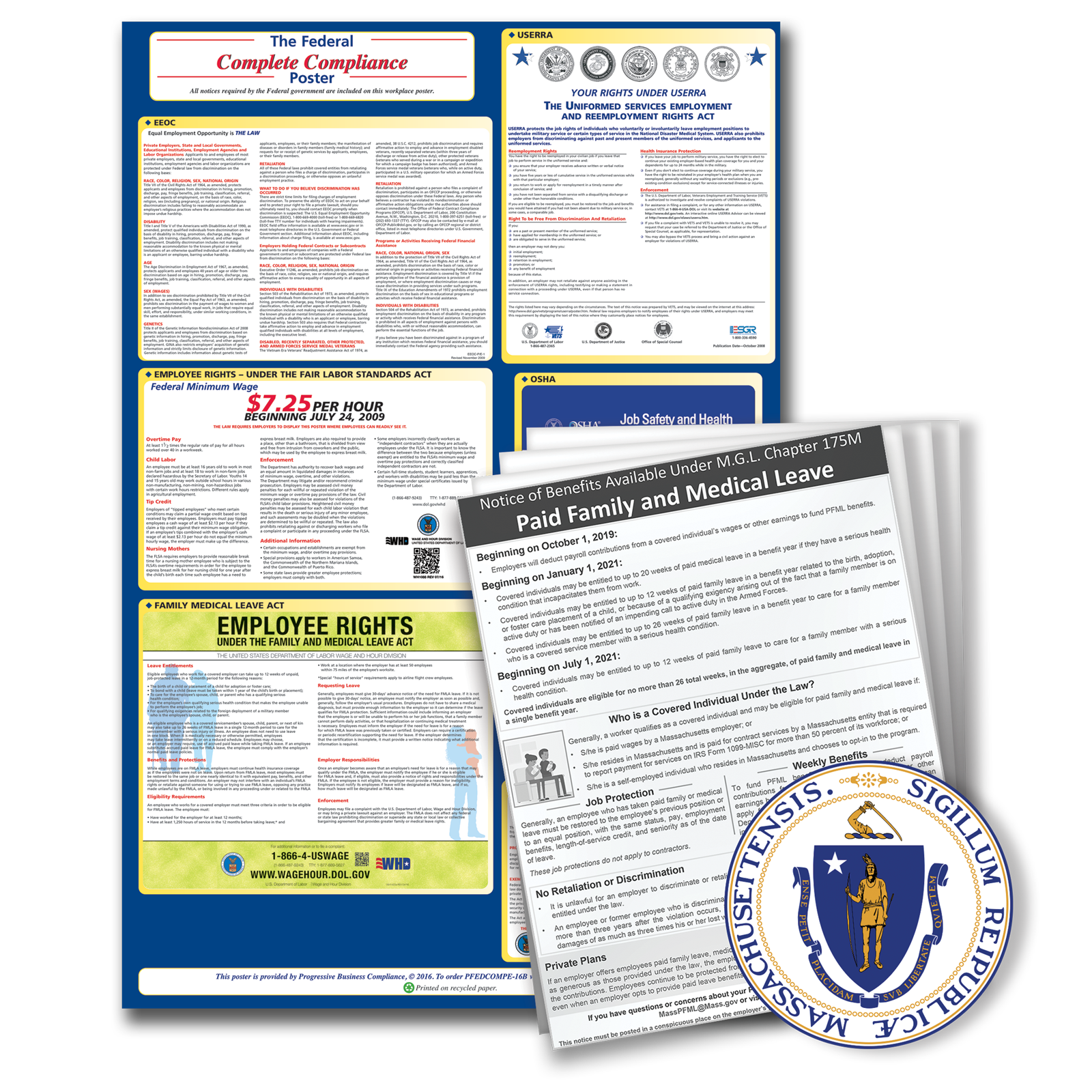 Massachusetts Federal and State Kit plus Update Service