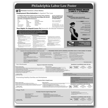Philadelphia- All-in-One City Poster